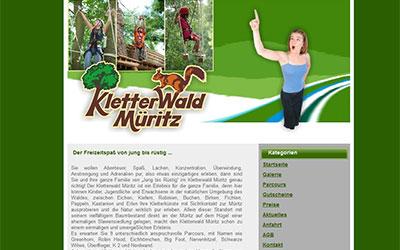 Kletterwald in Waren/Müritz